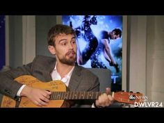 Theo James Beatboxing in Atlanta - YouTube