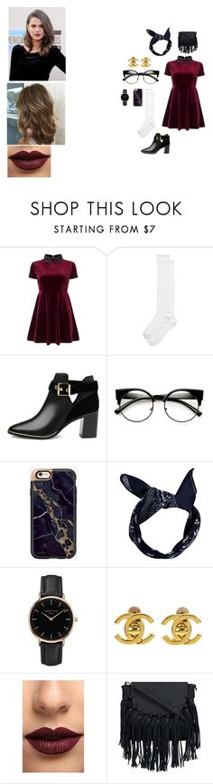 """""""Untitled #34"""" by macleecell on Polyvore featuring Miss Selfridge, Kate Spade, Ted Baker, Boohoo, Topshop, Chanel and LASplash"""