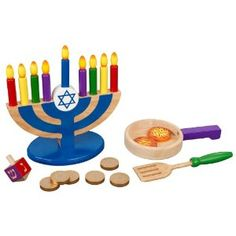 KidKraft Hannuakah, they also have Shabbat and Passover which I would also like to get them.