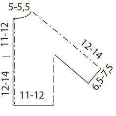 Neulo kaunis helmineulejakku vauvalle – ohjeessa koot 3-6kk - Kotiliesi.fi Line Chart, Diagram