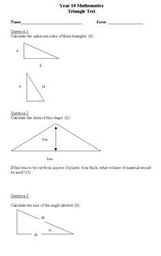 math worksheet : free high school math worksheet from funmaths maths  : Math Worksheets For High School