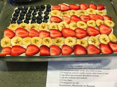 Raw Vegan American Flag Pie