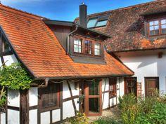Fachwerkhaus Schwarzwald Kehl am Rhein - Außenseite Ferienhaus [Sommer]