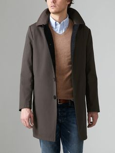 """Not a bad looking car coat (even if they do call it a """"rain walker."""")"""