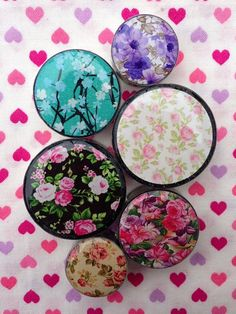 Floral Plugs 5mm-50mm Sold individually Not as a by GeekyWears