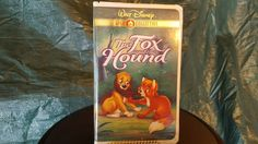 The Fox and the Hound Disney VHS GOLD COLLECTION