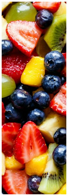 Honey Lime Fruit Salad ~ An incredible tasting and refreshing fruit salad... If you love honey and lime, you will LOVE a bowl of this fruit salad!