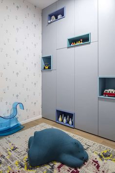 View the full picture gallery of Family Hallways Kids Wardrobe, Wardrobe Design, Wardrobe Ideas, Interior Work, Apartment Interior Design, Custom Furniture, Furniture Design, Concrete Cladding, Hallway Pictures