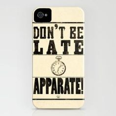 don't be late, apparate!