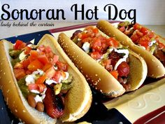 Lady Behind The Curtain - Sonoran Hot Dog