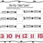 This is a ten frame activity I created to help my Kindergarteners add ten frames together.  I will use this in my centers on Valentines Day week.  ...