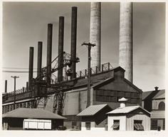 image of 'Steel Mill' Edward Weston, Industrial Photography, Modern Photography, Film Photography, History Of Photography, Photography Lessons, Henry Westons, Albert Renger Patzsch, Straight Photography