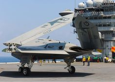Video Of X-47B & F/A-18 Carrier Ops Shows The Future Of Naval Aviation