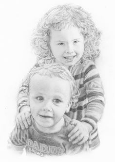 A4 Two People Portrait