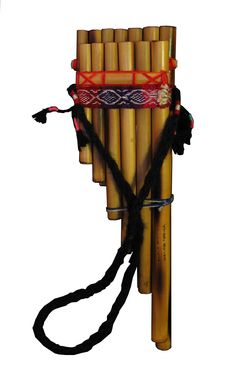 ✯ The pipes are one of the oldest made instruments dating back to 30,000 years ago, these were typically made from bamboo or giant cane. The pan flute is named for its association with the rustic Greek god Pan. Another term for the pan flute is syrinx. ✯