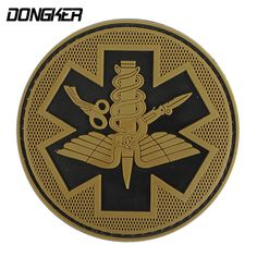 DONGKER Tactical PVC Patches Camping Military Army Armband Backpack Luminous Badges Patch For Hiking Safety Survival Pouch Kit(China (Mainland))