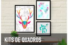 Kits e Posters e Quadros Decorativos