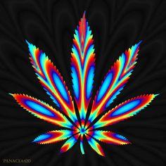 Trippy Leaf My Photoshop art #theweedartlady #weedart #legalize #cannabiscommunity #art #digitalart #photoshop #maryjane #marijuana #cannabis #weed #trippy #psychedelic #ganja #420