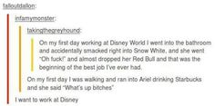 I hate disney but this sounds fun