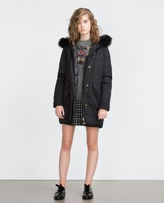 ZARA - WOMAN - LONG QUILTED PARKA