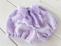 Baby Lace Bloomers Lace diaper cover for photo by FillesEnFleur