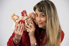 ✓ Passo a passo com Millyta Vergara, de como fazer o rosto e o cabelo de uma boneca encantadora, com técnicas que você pode aplicar para fazer suas próprias
