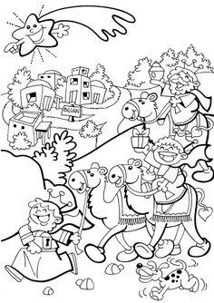 Ficha para trabajar la Natividad del Señor:                    J ugando con las formas (para los más chiquitos)                  PARA COLO...