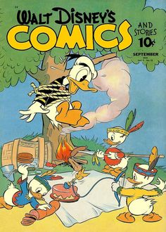 Cover for Walt Disney's Comics and Stories (Dell, 1940 series) #v2#12