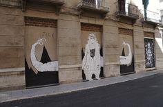 Muro Libre Proyecto MAUS/ Soho Málaga. #StreetArt #ArteUrbano #Arterecord