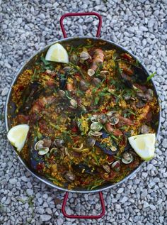 My Favourite Paella | Seafood Recipes | Jamie Oliver Recipes