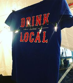 Deck the halls with #DrinkWickedLocal tees! We're at the @sowaboston Winter Festival all weekend long. Swing by for beer, wine & fun tanks & tees for everyone on your list. 🍷