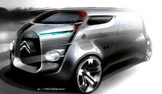 Citroën Design Sketch