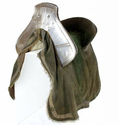 Saddle with later cloths. English, about 1550-70 (VI.495) in the Tower of London