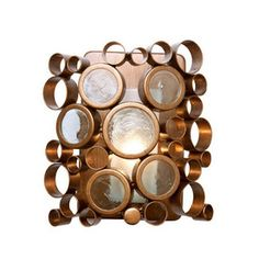 Varaluz Fascination 7.5-in W 1-Light Hammered Ore Arm Hardwired Wall Sconce