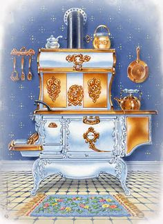 """""""Country Cook Stove"""""""