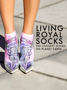 Start expressing yourself from head to toe. Literally. Check out our collections of the coolest socks on planet earth!