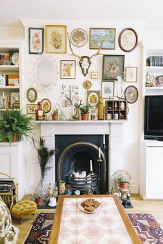 Eclectic Mantle  - CountryLiving.com