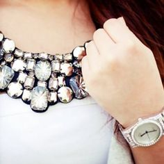 Big chunky necklaces