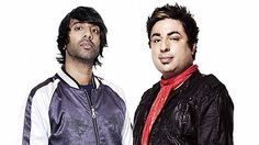 Bobby Friction (right) and Nihal (left) - BBC Radio 1 @ 50.