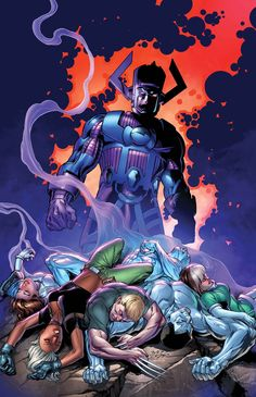 CATACLYSM: THE ULTIMATES' LAST STAND #3 From the blockbuster creative team of Brian Michael Bendis and Mark Bagley – the Ultimates know Galactus is not of their universe, and they're willing to do anything to stop him! Including sending Miles Morales and Ultimate Reed Richards into the Marvel Universe for help! But has Reed redeemed himself in this time of crisis – or is he only out for himself?