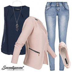 Buy Outfit 7402 now at Business Outfit Frau, Business Casual Outfits, Mode Outfits, Chic Outfits, Fashion Outfits, Young Fashion, Look Fashion, Mode Rose, Moda Plus