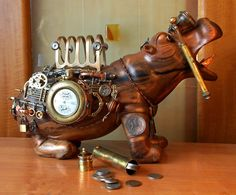 Steampunk Tendencies | Hippopotamus-safe ~ Aleksandr Mushkina & Alena Mushkina New Group : Come to share, promote your art, your event, meet new people, crafters, artists, performers... https://www.facebook.com/groups/steampunktendencies