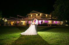 California Wedding Stockton Bride And Groom Night Photography