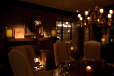 1833 Restaurant in downtown Monterey, CA provides a warm atmosphere
