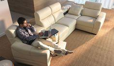 grand vario etap sofa Recliner, Living Room Designs, Sofas, Modern, Chill, Furniture Design, Relax, Couch, Home Decor