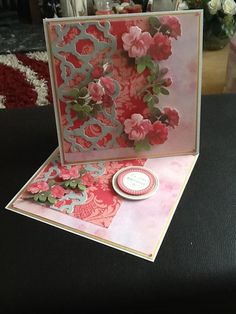 card made with Anna Griffin products - beautiful!