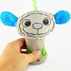 Stroller Toy Hanging Toy Baby Shower Gift Rattle Toy by MiaPuPe