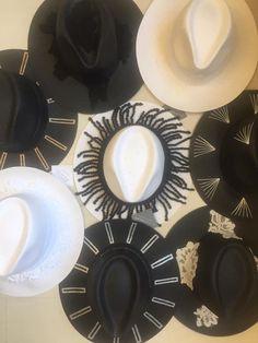 GoustoMouKeCapeloMou By Elena Chalati #hat #black #white #handcrafted #handmade #goustomoukecapelomou