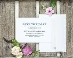 "save the date""uptown simplicity"", online bestellbar bei www.papierhimmel.com"
