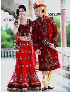 Bride-Groom Wedding Combo Item code : WED281  http://www.bharatplaza.com/combos/wedding-combos/bride-groom-wedding-combo-wed281.html https://www.facebook.com/bharatplazaportal https://twitter.com/bharat_plaza